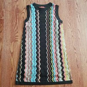 Missoni chevron print knit dress [small] EUC!